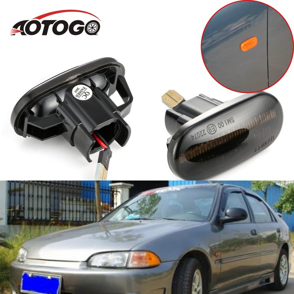 HX//LX Left Driver Power Mirror UnPainted No Heat Fits 01-05 Honda Civic Coupe
