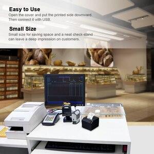 Image 5 - High Quality USB Printer Thermal Receipt Printers Qr Code Sticker Adhesive Printer 58mm UK Plug