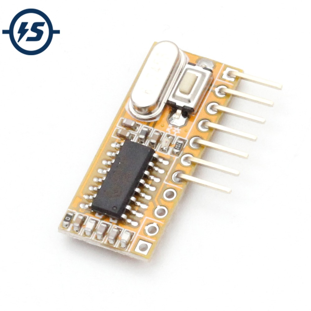 RXC6 433Mhz Superheterodyne Wireless <font><b>Receiver</b></font> PT2262 Code Steady For Arduino/<font><b>AVR</b></font> DIY Electronic Module PCB Board image