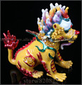 Chinese dragon trinket box Feng Shui dragon treasure jewelry box collectible fantasy dragon decoration figurine