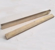 2Pieces/Lot 5x10x50mm 0.5M- Metal Drive Rails Slide Precision Motors DIY Small Module Spur Gear Rack