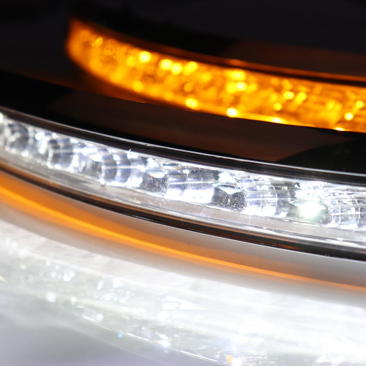 1 paire Feux de jour LED DRL Lampe Tournant Du Signal Pour Volvo XC90 2007 2008 2009 2010 2011 2012 2013 brouillard lampe