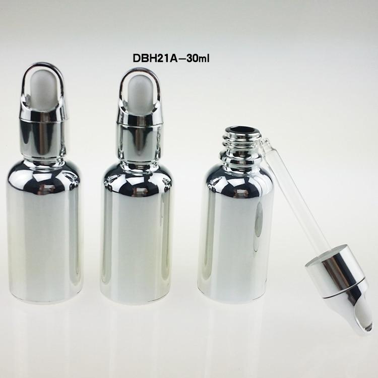 na debelo 100 kosov steklenice za 1 kapalko za kapalke, srebrne - Orodja za nego kože