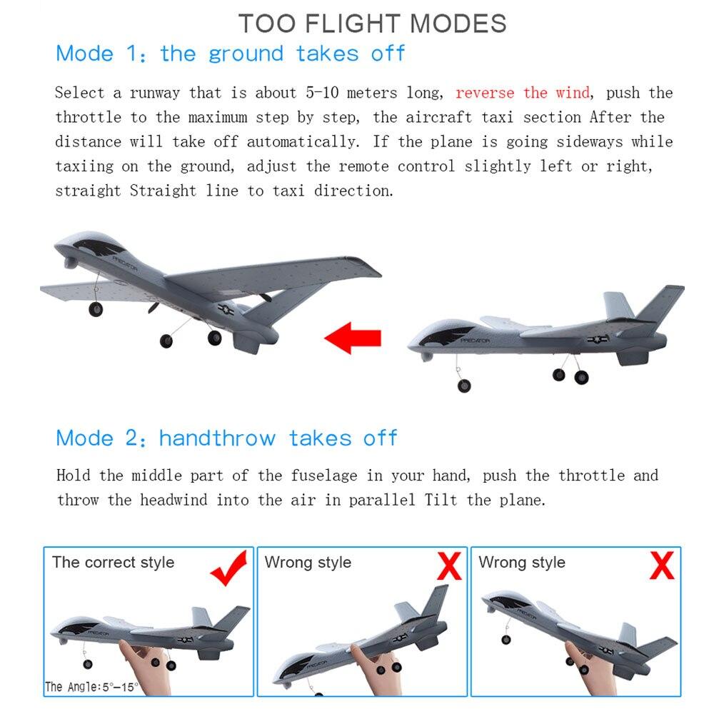 RC Plane - Predator Z51 Remote Control RC Airplane