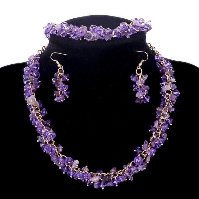 MINHIN Bridal Jewelry Set...