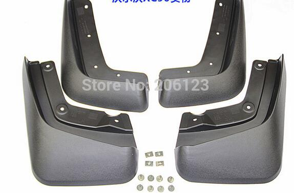 2005 2011 2012 2013 2014 2015 2016 for Volvo xc90 Mud guard Flaps Splash auto accessories Mudguards 4pcs