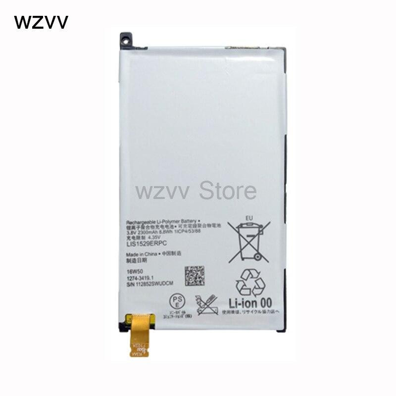 wzvv LIS1529ERPC Battery For Sony Xperia Z1 Compact mini Z1c D5503 M51w 2300mAh Battery