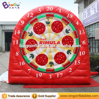 Free express 3M high inflatable soccer dart board football shooting Game funny inflatable soccer dart game for kids outdoor toys