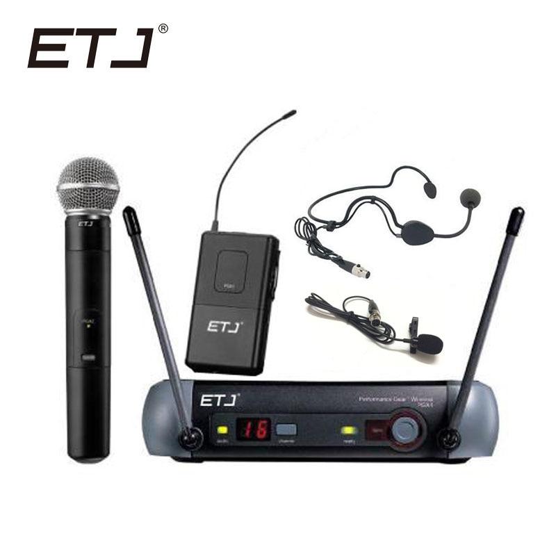 ETJ Brand UHF Professional Wireless Microphone System PGX24/BETA58 PGX14 PGX4 PGX2 MIC for STAGE without case!Normal boxETJ Brand UHF Professional Wireless Microphone System PGX24/BETA58 PGX14 PGX4 PGX2 MIC for STAGE without case!Normal box