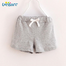 LONSANT 2018 Bermudas Menina Children Cotton Shorts Baby Girls Clothes Meisjes Kids Korte Broek Fashion Solid Pants Dropshipping