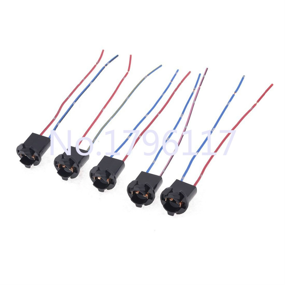 hight resolution of 10pcs t10 194 501 w5w t15 168 car led smd light wire harness holder 194 led wiring harness