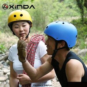 Image 2 - Xinda casco professionale da esterno protezione di sicurezza casco da campeggio esterno ed escursionismo casco da equitazione equipaggiamento protettivo per bambini
