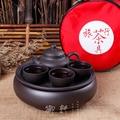 Чайный набор кунг-фу  чайный набор из 6 предметов  китайские фарфоровые наборы для путешествий  керамика  гугфу  твердая гайвань  Исин  фиолет...