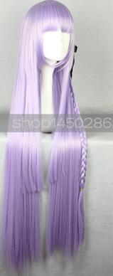 """Danganronpa Dangan Ronpa Kyoko kiuko kirigri вечернее платье в стиле """"Лолита"""" юбка костюм униформа косплей костюм любой размер длинные волосы парик - Цвет: Wig"""