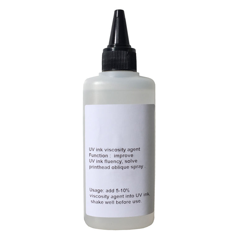 Hot sales 1 set/500ML UV Viscosity Liquid For Epson UV Flatbed Printer with high quality Metallic glass Can be directly printed high quality uv flatbed printer manufacturing print on metal