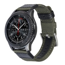 Woven Nylon Strap 22mm for Samsung Gear S3 Classic/Frontier