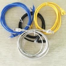 A01 сетевой кабель сетевая перемычка 1 м-30 М готовый сетевой кабель более пяти категорий витая пара кабель