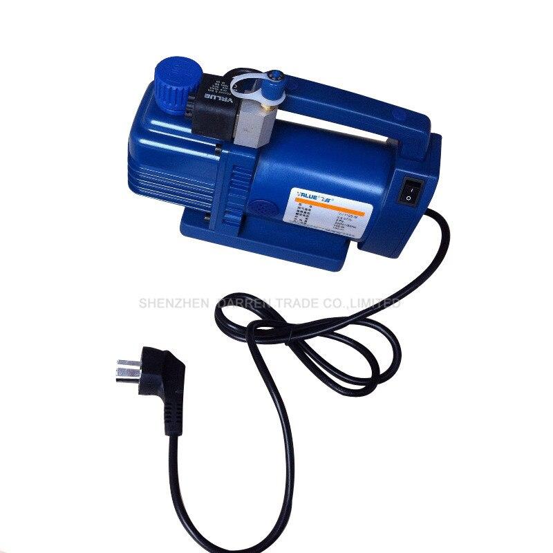цена на 220v/50Hz V-i115S-M New Refrigerant Vacuum Pump Suit for R410a,R407C,R134a,R12,R22 Refrigerate