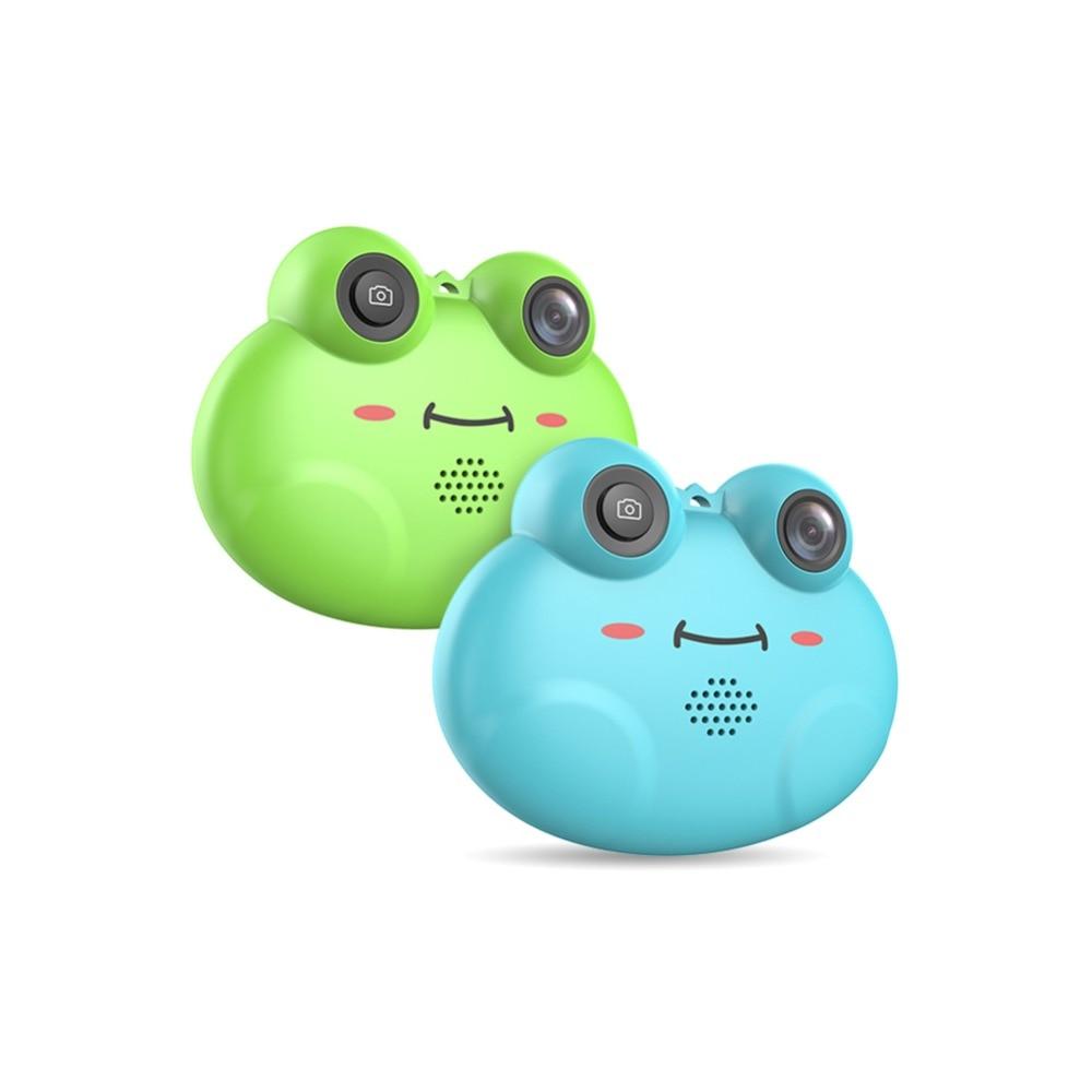 K5 HD 1080P Cartoon Frog Shape Child Camera Digital Photo Camera Easy operation Juguetes Photography Birthday Gift Cool Kids