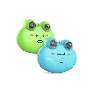K5 HD 1080P Cartoon Frog Shape Child Cam