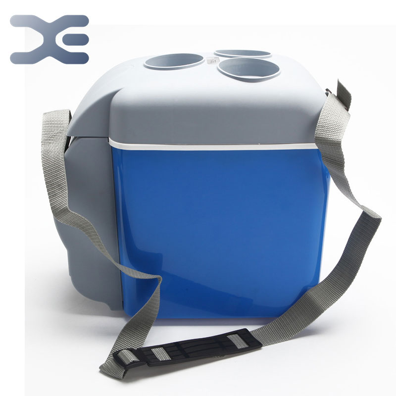 High Quality Portable Fridge Blue Portable Mini Summer Travel Driving Hot And Cold Car Refrigerator For Car And Home