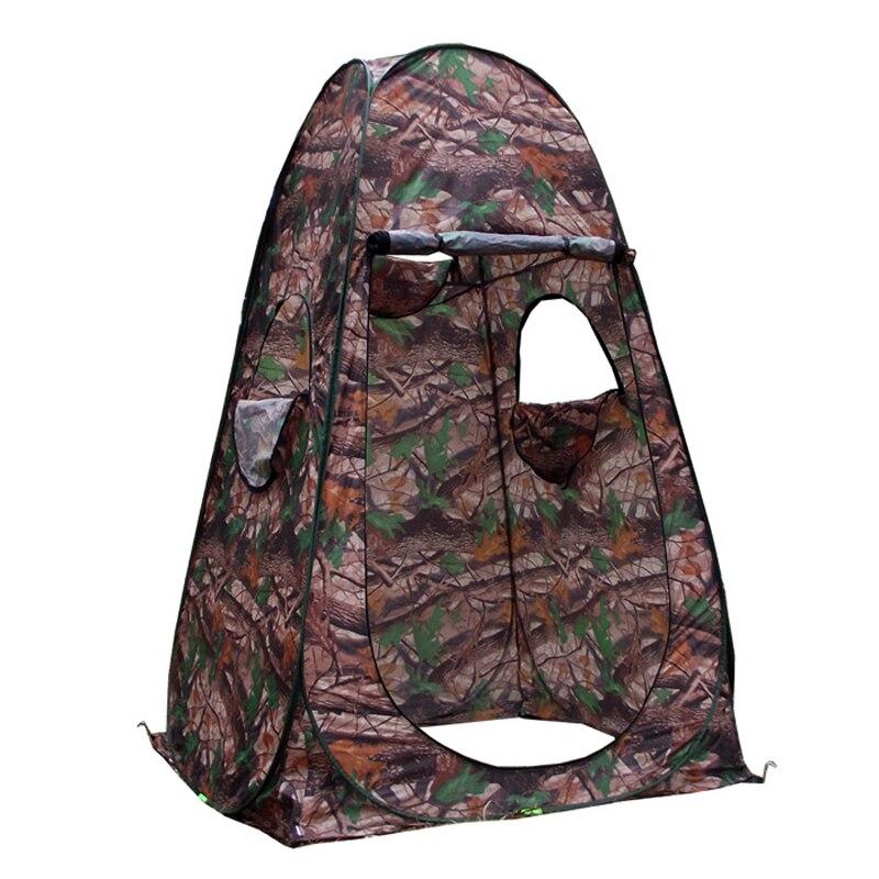 Einzelnen verstecken! Tragbare Datenschutz Dusche Wc Camping Pop Up Zelt Armee grün camouflage fotografie zelt