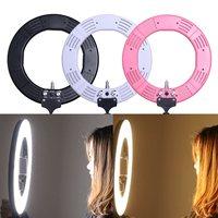 Dimmable Diva 12 60W LED Studio Ring Light Beauty Make Up Selfie Video Photo