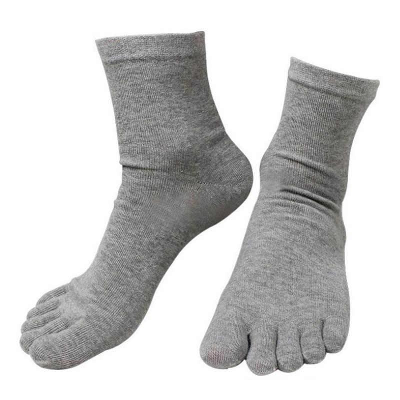 10 пар, новые модные весенне-зимние носки Harajuku, мужские и женские носки с пятью пальцами, хлопок, полиэстер, дышащие носки, 6 цветов, Meias