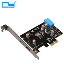 Portas SuperSpeed USB 3.0 PCI-E PCI Express 19-pin USB3.0 pcie Motherboard 20 P Conector de 20 pinos