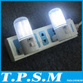 Apenas 3 W 2 pçs/lote 4 LEDs Wall quarto montagem noite luz lâmpada Plug iluminação AC energia eficiente luz noite romântica