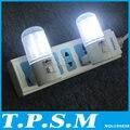 Sólo 3 W 2 unids/lote 4 Led de Pared Dormitorio Montaje Lámpara de Luz Nocturna Plug Iluminación AC Luz de alta eficiencia Energética romántica Luz de La Noche