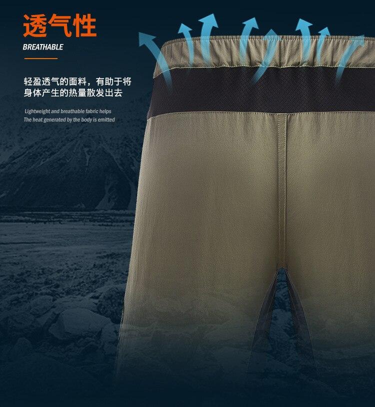 Daiwa calças curtas 2019 verão à prova