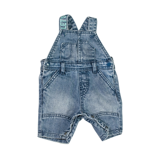 535f795d10f2 Infant Baby Denim Rompers Newborn Shorts Boys Girls Jeans Jumpsuits Toddler  Bebe Kids Covered Button Patchwork Children Clothing