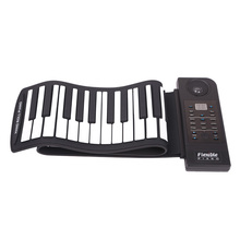 купить KONIX Folding Keyboard Piano 88 Keys 128 Tones Digital Electronic Organ Roll Up MIDI Piano Built-in Speaker в интернет-магазине