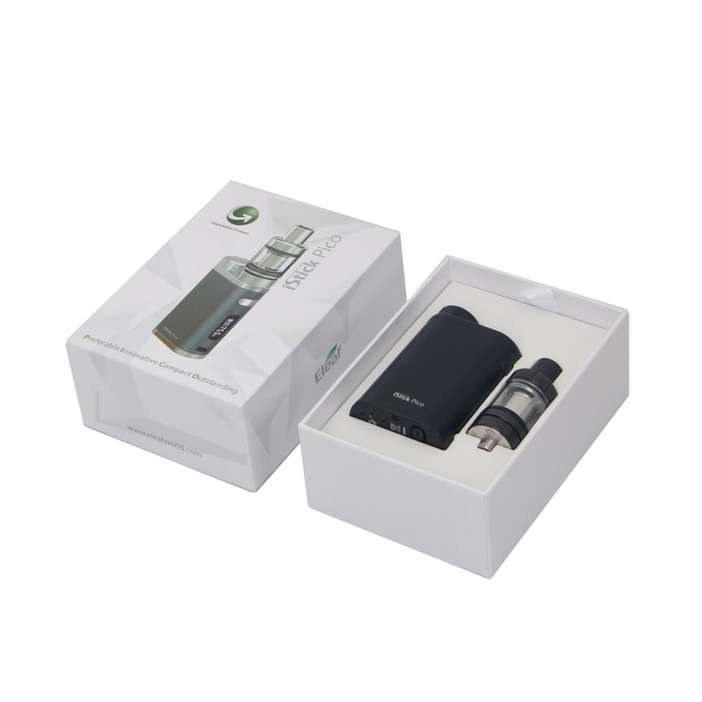 Image 3 - Original Eleaf iStick Pico Kit 75W Box Mod Vape Electronic  Cigarette 2ML Melo III Mini or 4ML Melo 3 Tank E Cigarettes  Vaporizere-cigarette vaporvaping electronic cigaretteelectronic  cigarette