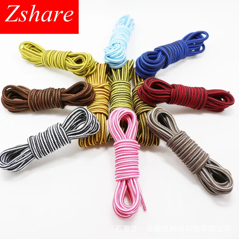 1Pair Striped Round Shoelaces Unisex Sneaker Shoe Laces Top Quality Polyester Outdoor Sport Shoelace Length 70/90/120/150CM1Pair Striped Round Shoelaces Unisex Sneaker Shoe Laces Top Quality Polyester Outdoor Sport Shoelace Length 70/90/120/150CM