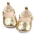 New Arrival Beautiful Bling Fancy Baby Newborn Infant Dress Shoes For Girls 0-15M