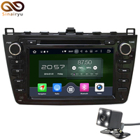 Sinairyu 8 Inch Black Panel Android 6 0 7 1 Car DVD GPS Fit For Mazda