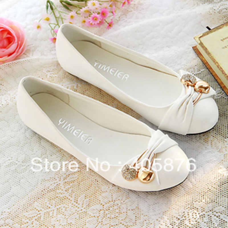 Popular Flat Dress Shoes for Women-Buy Cheap Flat Dress Shoes for ...