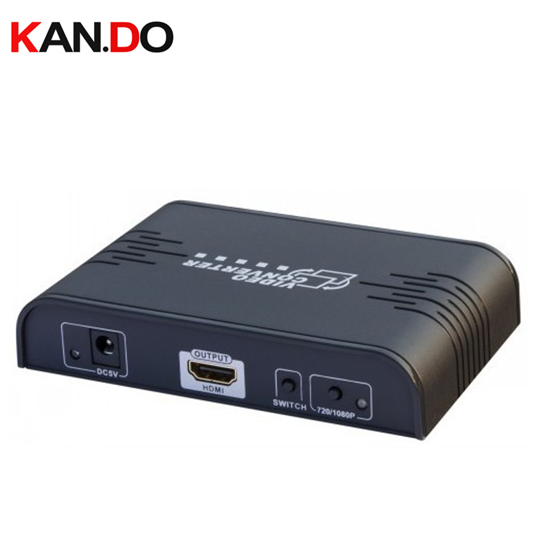 363A RCA Composite video&S-video to HDMI converter,HDMI convertor video Upscaler up to 720p 1080p AV switch converter AV adapter цена и фото