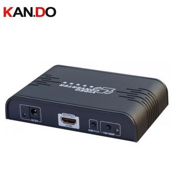 363A RCA Composite video&S-video to HDMI converter,HDMI convertor video Upscaler up to 720p 1080p AV switch converter AV adapter