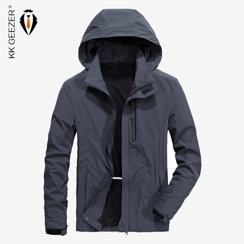 2018 New Spring Autumn Winter Denim Jacket Men Fashion Streetwear Jeans White Jacket Cotton
