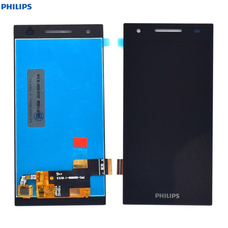 Philips Xenium S396 Écran lcd avec Écran Tactile Digitizer Assemblée Verre 5.0 pouces Philips S396 LCD Écran avec Des Outils