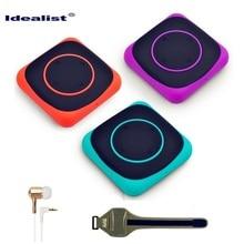 Idealist 4GB MP3 Ultrathin Mini MP3 Clip Music Player Sport MP3 Player Mini Clip Design Digital LED Light Flash Music Player