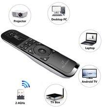 Оригинальный Rii Mini i7 2,4 ГГц Беспроводной пульт дистанционного управления в виде мини Мышь восприятие движущихся объектов 6-Axis Дистанционное Управление для Смарт Android ТВ коробка ПК ТВ коробка