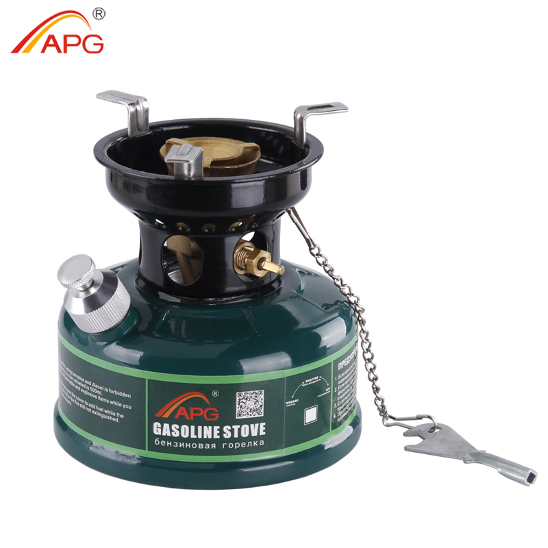 APG Outdoor Gasoline Stove 500ml Oil Petrol Stove Burners Camping Equipment multifunctional portable outdoor camping petrol stove burners 1000ml gasoline picnic gas stove cooking stove wholesale