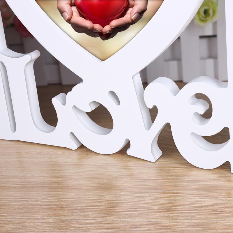 Sweet Love foto Marcos corazón forma con dos cuadro que cuelga para ...