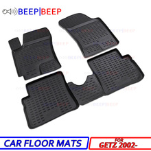 Carpets Hyundai Getz Floot-Mats Dustproof for 2002-Car Auto Car-Styling Interior-Decoration