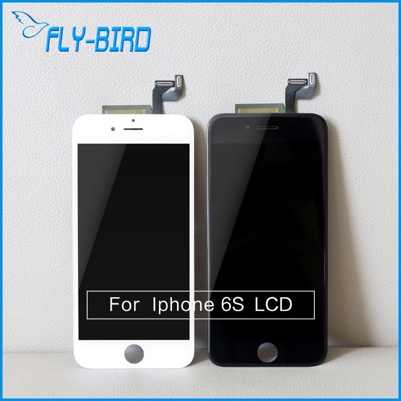 ФОТО 10PCS/LOT LCD For iPhone 6s LCD Screen No Dead Pixels Touch Screen Display