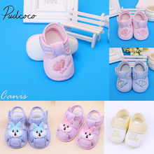 2019 Baby Unisex First Walkers Toddler Baby Summer Sandals Soft Sole Crib Shoes Walking Anti-slip Breathable Prewalker New(China)